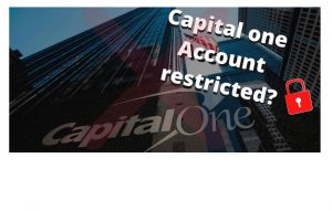 Why Capital One Credit Card Account Restricted