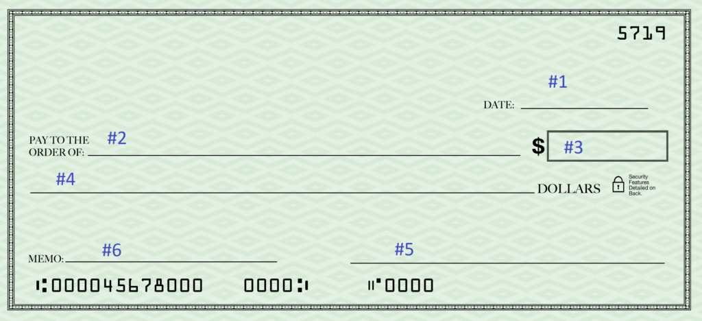 How to Write a Check with Cents
